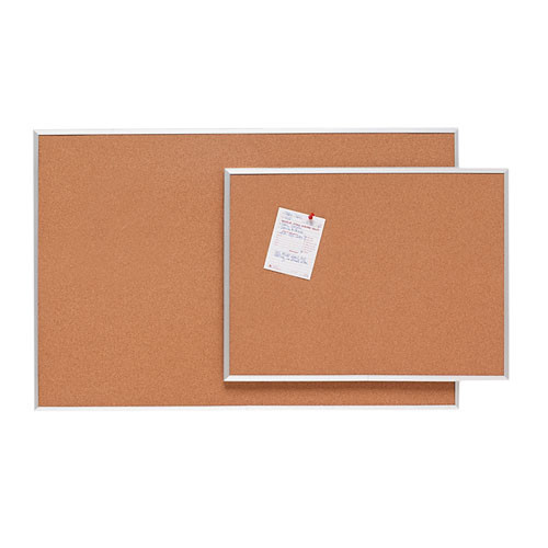 "Sparco Basic Aluminum Frame Cork Board   1/2"" Thick - SPR19765"