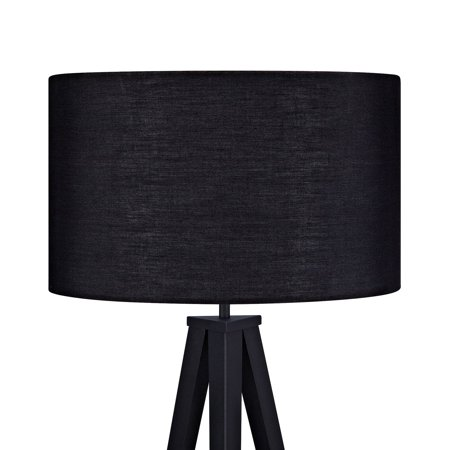 Versanora romanza tripod floor lamp with black shade walmart versanora romanza tripod floor lamp with black shade aloadofball Choice Image