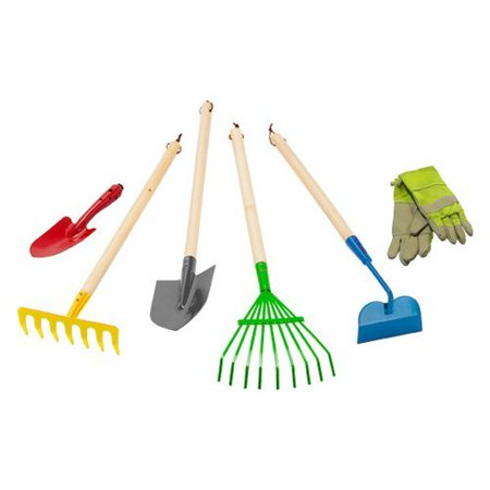 Morgan cycle 6 pc junior garden tool set for Gardening tools list 94