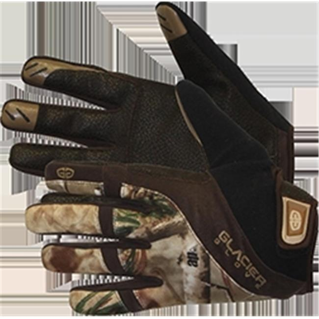 Glacier Outdoor 655R3 Field Glove Lightweight Realtree All Purpose HD, Medium