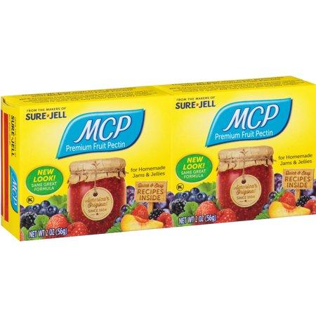 Pectin 16 Oz Powder (MCP Premium Fruit Pectin Dual Pack, 2 oz Box (Pack of 2))