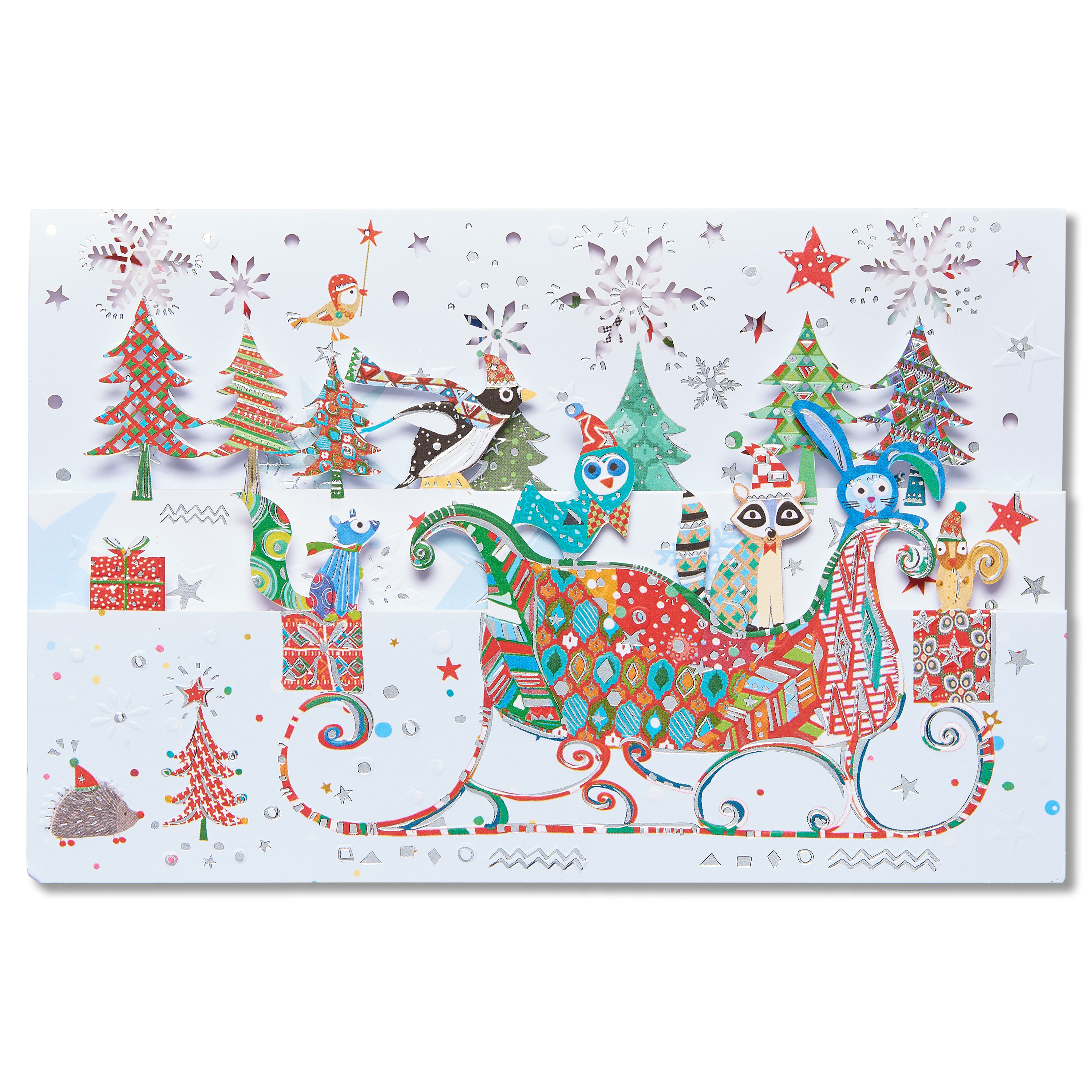 AMERICAN GREETINGS® American Greetings Christmas Wishes Christmas Card with Foil