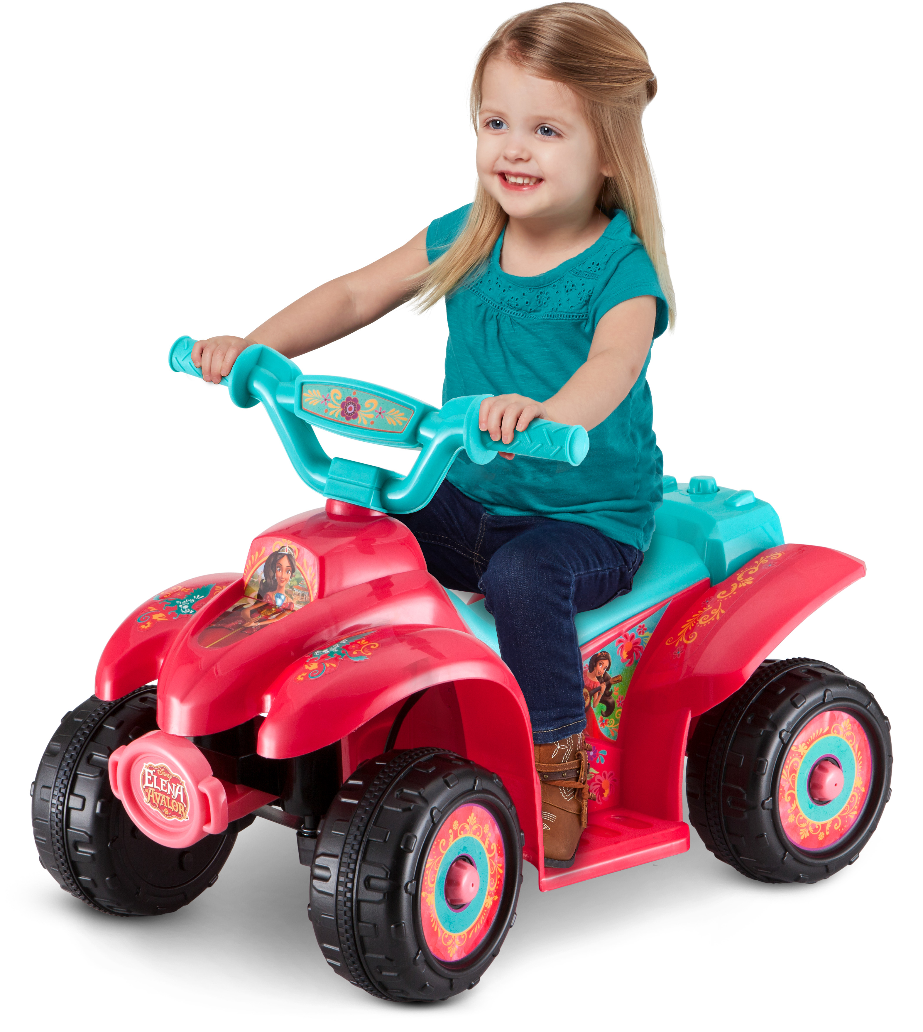 Disney Elena of Avalor 6V Battery Powered Ride-On Quad