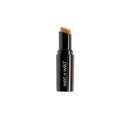 Halloween 2017 Fantasy Makers MegaLast Lip Color Lipstick, Gimme Gold, Long wearing formula with a semi-matte cream finish By Wet n Wild From USA (Wild Adventure Halloween 2017)