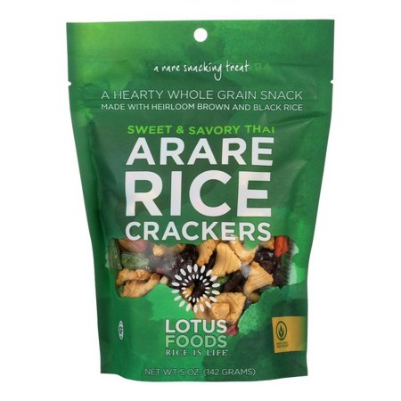 Halloween Savory Food (Lotus Foods Arare Rice Crackers - Sweet And Savory Thai - pack of 8 - 5)