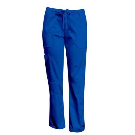 MAZEL UNIFORMS MODERN FIT FIVE POCKET CARGO SCRUB PANTS-REGULAR, PETITE, AND TALL SIZES