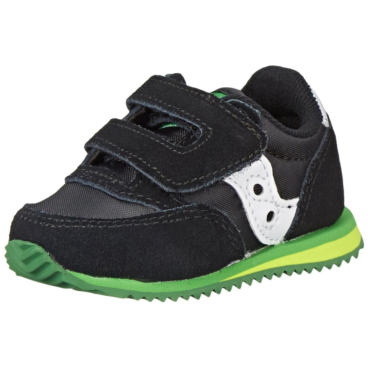 Saucony Jazz Baby Black/Green Sneakers