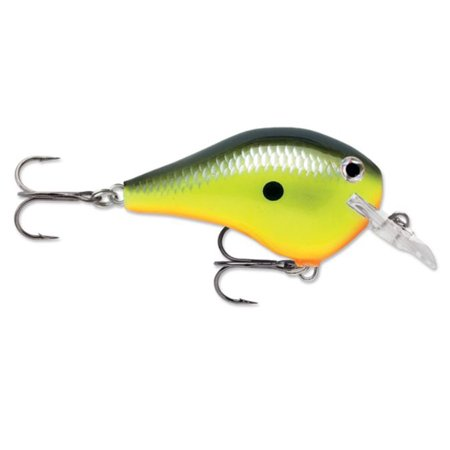 Rapala dt fat 03 fishing lure chartreuse shad for Chartreuse fishing lures