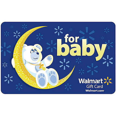 Baby Walmart Gift Card