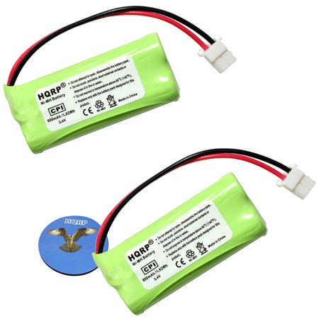HQRP Phone Battery 2-Pack for ATT LUCENT EL52401 EL52110 EL52200 EL52210 EL52250 EL52300 EL52350 EL52201 EL52251 EL52301 EL52351 Cordless Telephone + HQRP (Lucent Cordless Telephone)