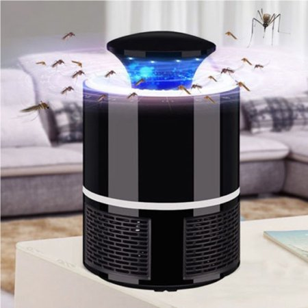 Electric Fly Bug Mosquito Insect Killer LED Light Trap Lamp Pest
