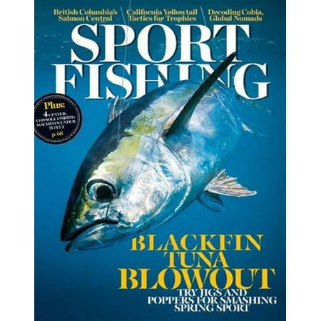 Sport Fishing Magazine Subscription  1 Year