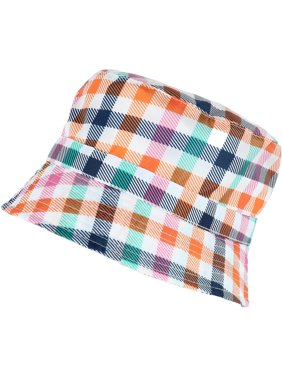 03096700e6e7e Product Image Size one size Women s Rainbow Gingham Rain Bucket Hat