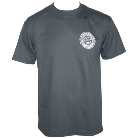 Chris Kyle Frog Foundation Mens Patriot T Shirt Charcoal Gray