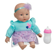 """My Sweet Love Feed and Cuddle 12.5"""" Baby Doll, Light Skin Tone, Purple Outfit"""