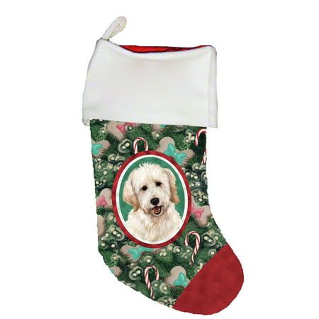 Goldendoodle White - Best of Breed Dog Breed Christmas (The Best Christmas Stockings)