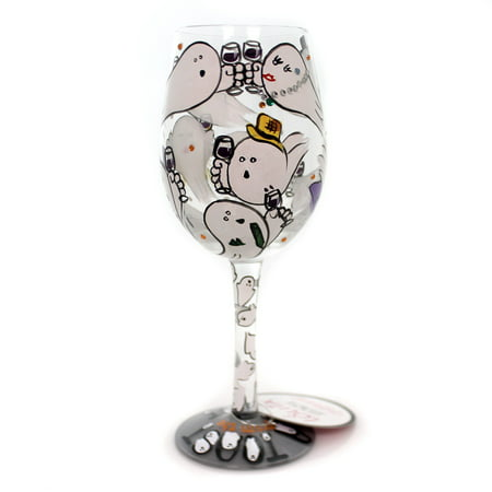 Tabletop A TOAST FROM THE GHOST Glass Lolita Wine Glass Halloween - Toasts Halloween