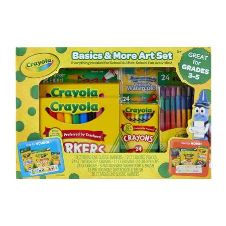 Crayola Basics And More Art - Crayola Sets