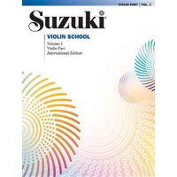 Suzuki Violin School, Violin Part: Suzuki Violin School, Vol 1: Violin Part (Other)