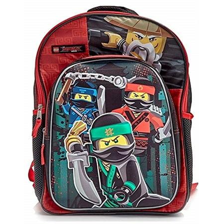 Ninjago 3d Molded 16 Backpack School Book Bag