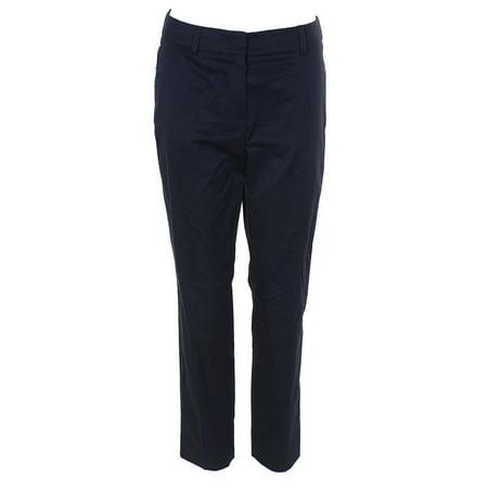 Weekend Max Mara Navy Stretch Pants 4 - Max Mara Silk