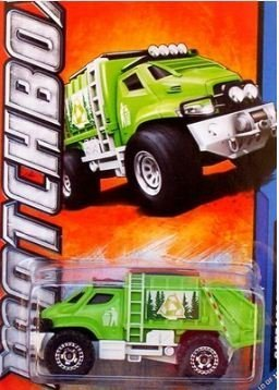 2012, Garbage Grinder Truck, MBX City 10 10. 1:64 Scale., SHIPS FAST By Matchbox by