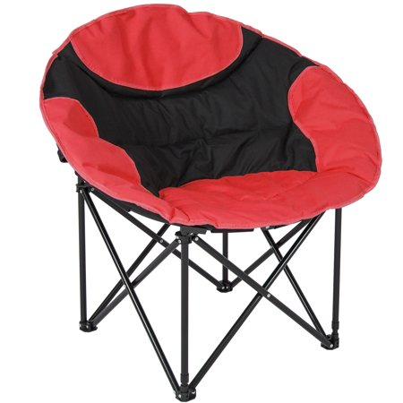 Best Choice Products Outdoor Foldable Lightweight Camping Sports Chair w/ Large Pocket, Carrying Bag-