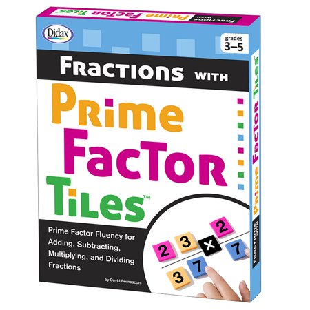 FRACTIONS WITH PRIME FACTOR TILES