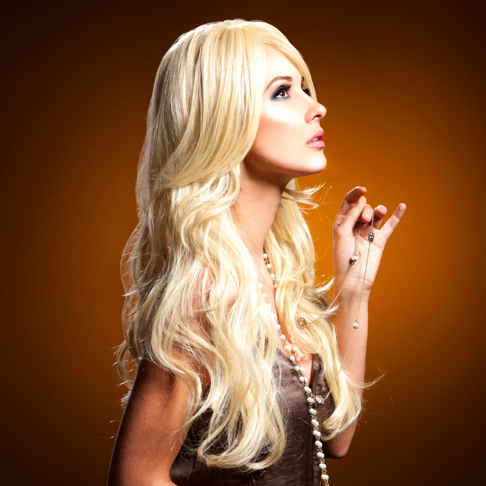 Blush Cala Fantasy Style Synthetic Wig - Cali Blonde