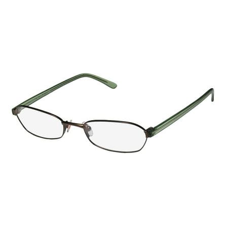 New Karen Millen Km0064 Mens/Womens Designer Full-Rim Brown / Green With Glitter Classic Adult Size Budget Frame Demo Lenses 50-17-140 Eyeglasses/Eye Glasses (Schwarz Karen Millen)