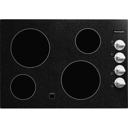 """Frigidaire FFEC3024L 30"""" Electric Cooktop with Ready-Select Controls and Color-Coordinated Control Knobs"""