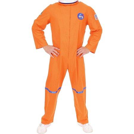 Space Suit Costumes (Adult Men's Orange NASA Astronaut Space Suit)
