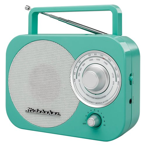 Studebaker Retro Portable AM/FM Desktop Radio