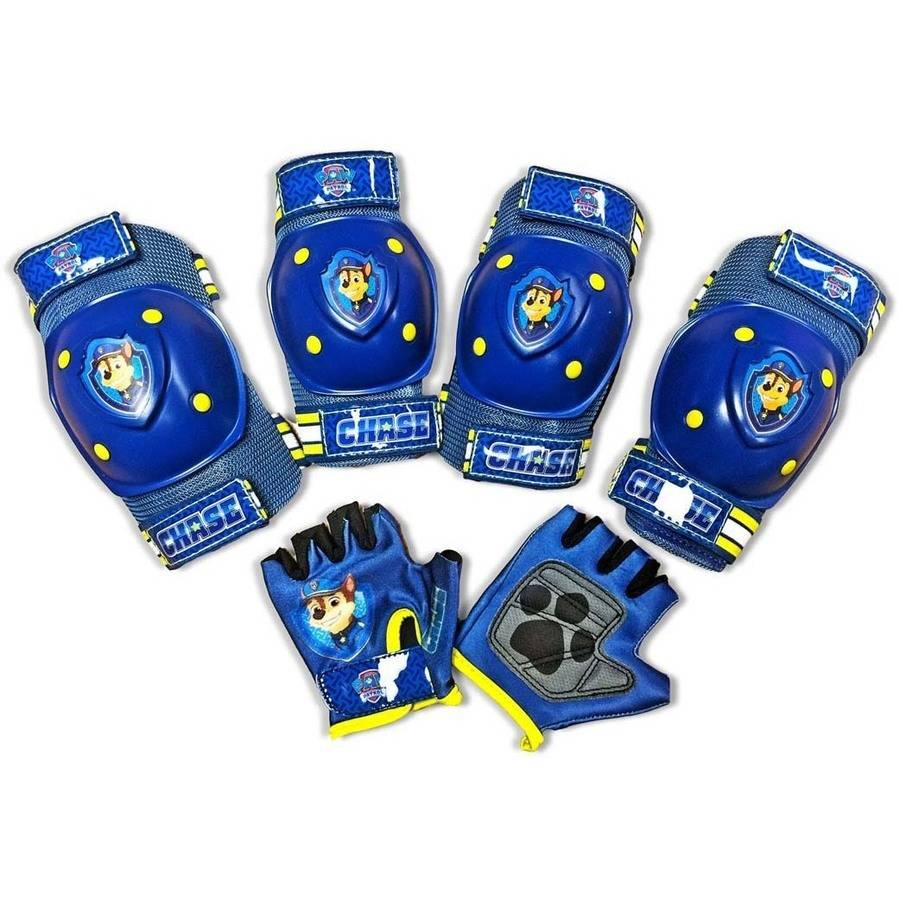 Nickelodeon Paw Patrol Chase Pad and Glove Set Blue