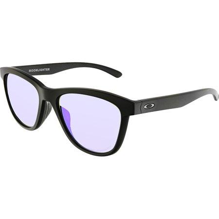 e4fecd5e0ada Oakley Women s Moonlighter OO9320-09 Black Square Sunglasses - image 3 ...