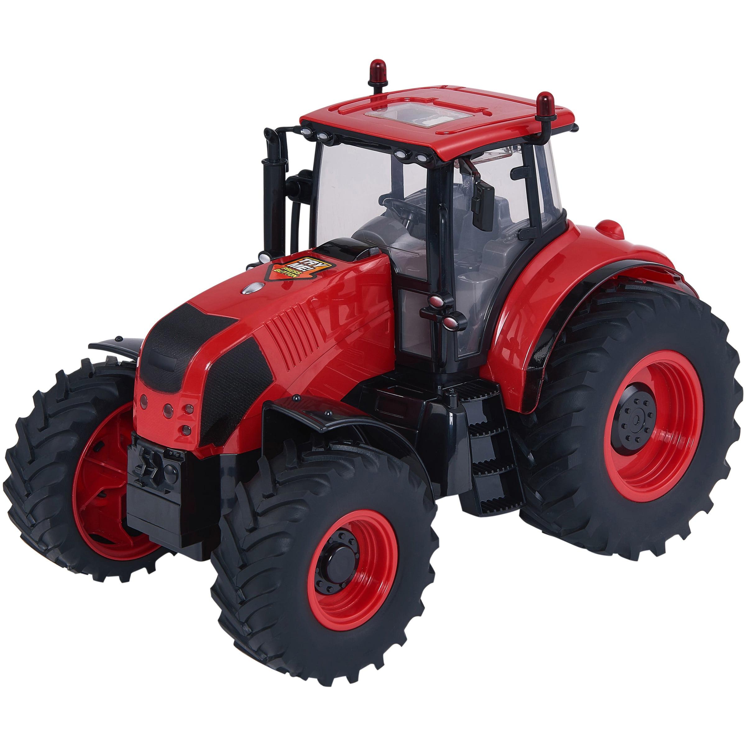 Adventure Force Light & Sound Farm Tractor, Red by Boley International (HK) Ltd.
