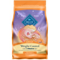 Blue Buffalo Weight Control Natural Adult Dry Cat Food, Chicken & Brown Rice, 5-lb