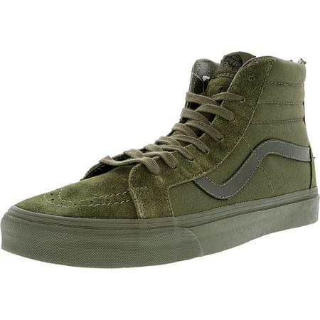 971c18ed2f Vans - Vans Men s Sk8-Hi Reissue Zip Mono Ivy Green Mid-Top Canvas  Skateboarding Shoe - 12M - Walmart.com