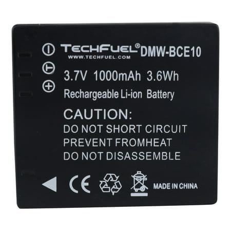panasonic sdr-s26 camcorder techfuel battery cga-s008 /