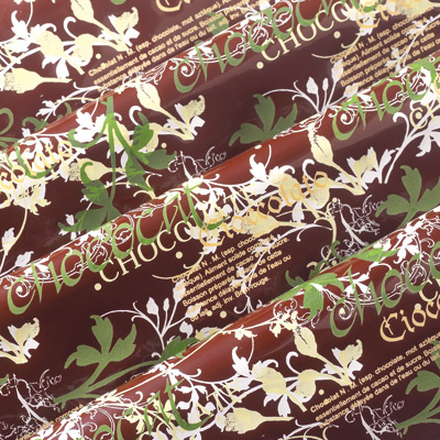 PCB Chocolate Transfer Sheet: Chocolate, Pack Of 15