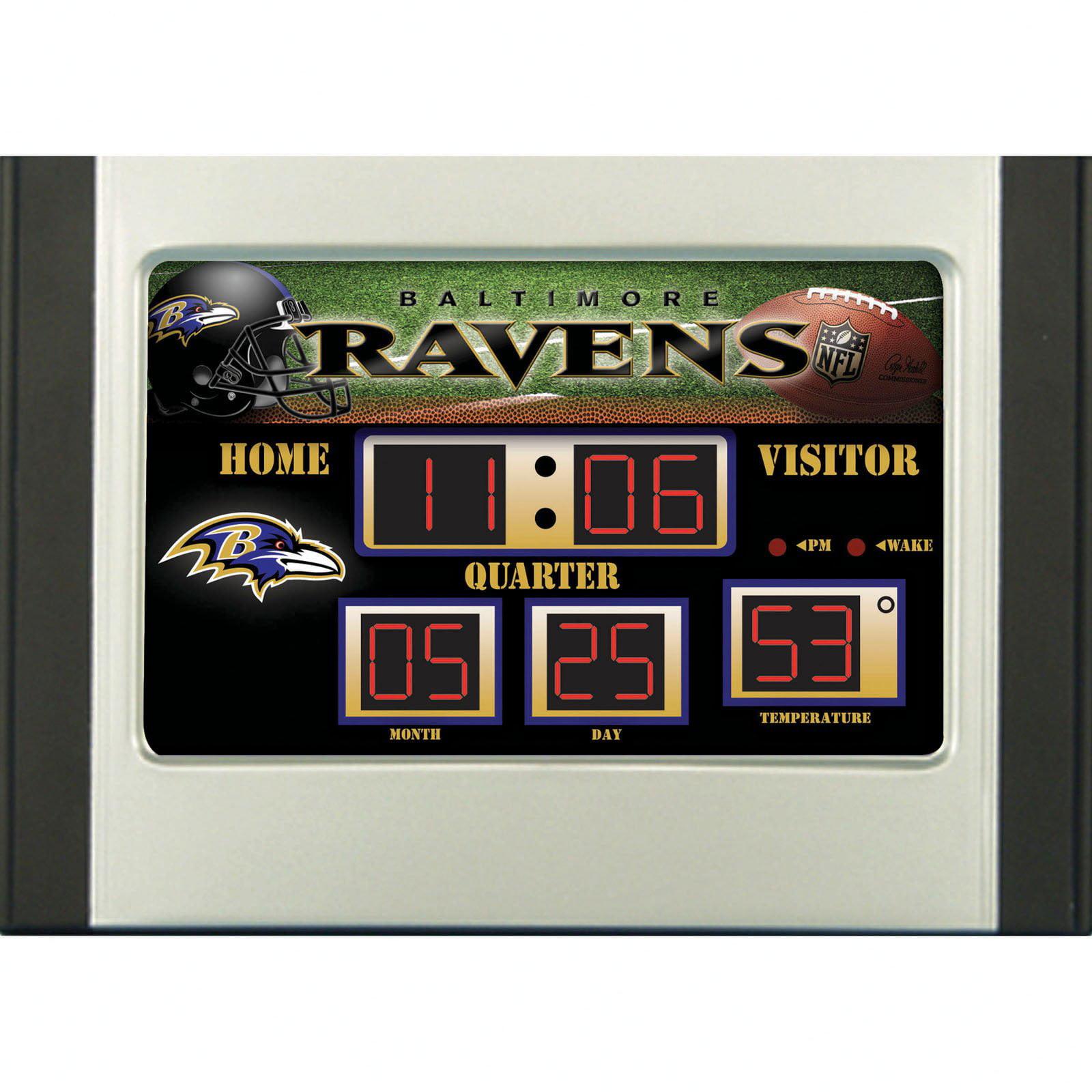 Green Bay Packers Scoreboard Desk & Alarm Clock
