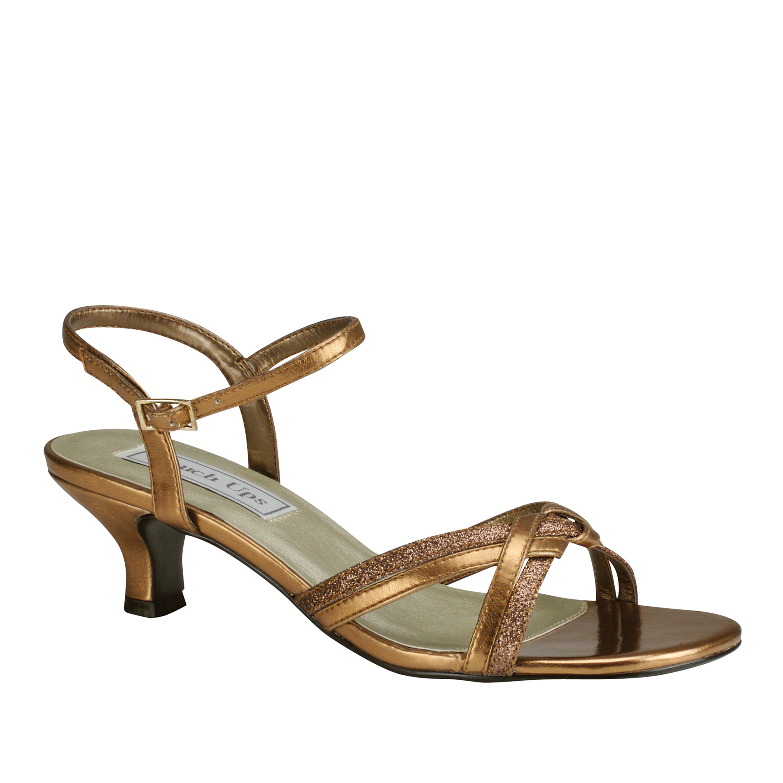 Touch Ups Melanie Womens Bronze Sandals 11 M by Benjamin Walk