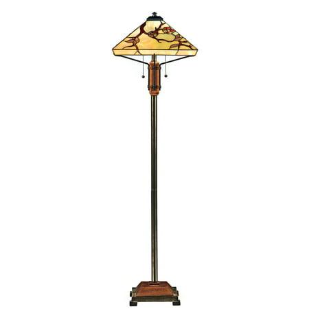 Quoizel Grove Park TF9404M Tiffany Floor Lamp (Quoizel Town Park)