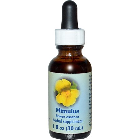 Flower Essence Services Mimulus Dropper 1 Ounce, Pack of 2 ()