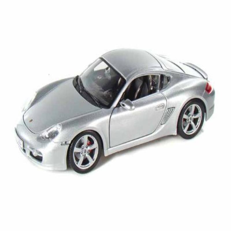 Maisto Porsche Cayman S 1/18 Silver by Collectable Diecast