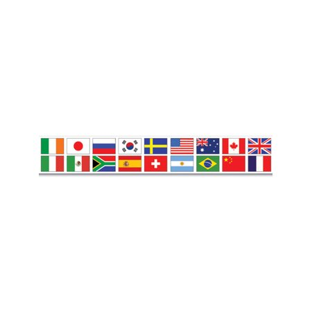 International Flags Countries Party Tape Halloween Decoration 3