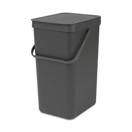 Brabantia Sort & Go Waste Bin, 4.2 Gallon (16L)
