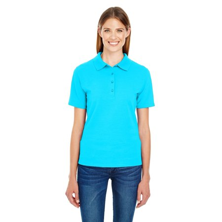 2d32b48b5 Branded Hanes - Branded Hanes Ladies X-Temp Piqué Polo Shirt with ...