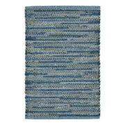 Liora Manne Sahara Hand-Woven Blue Indoor/Outdoor Area Rug