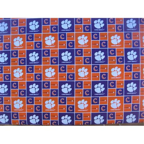 Clemson Dog Collar Large